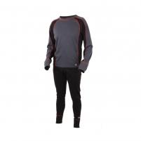 Šilti Apatiniai Eiger Active Underwear Set XL Juodi Fishing underwear clothes