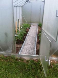 Takelio atskyrimas 2 metrų ilgio (2 vnt. po 2 m.) šiltnamio prailginimo HOUSE Šiltnamiai