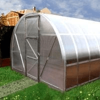 Greenhouse Dačnaja EKO 10x3x2 (30m2) 6mm