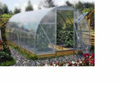Greenhouse Dačnaja EKO 14x3x2 (42m2) 4mm