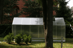 Greenhouse GAMPRE L 7 2900x2200x2100 (6,5 m2) 6mm Greenhouses
