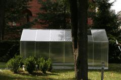 Šiltnamis SANUS (L-7) (6,5m2) 2200x2900x2080 su 6mm polikarbonato danga Šiltnamiai