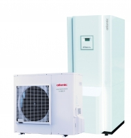 Šilumos siurblys oras/vanduo Atlantic Alfea Excellia Hybrid Duo Fuel Oil TRI 16 Siltumsūkņi