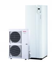 Šilumos siurblys oras/vanduo Atlantic Alfea Excellia Hybrid Duo Gas TRI 11 Siltumsūkņi