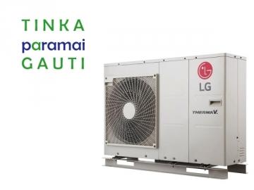 Šilumos siurblys Oras-Vanduo LG Therma V, Monobloc, 7 kW Ø1 Šilumos siurbliai, kondicionieriai