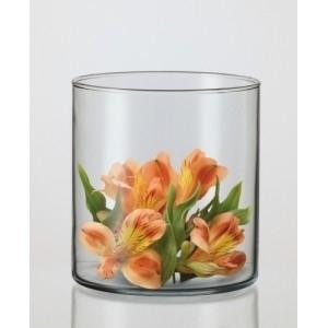 SIMAX VAZA DRUM II SKAIDRI 12 CM Vases, fruit