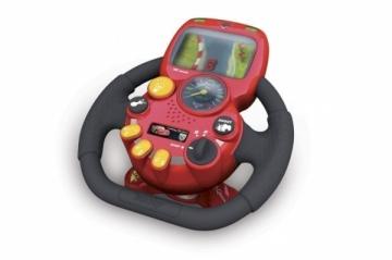 Simba Interaktyvus vairas su garsu Cars 7600500250 Interactive Toys