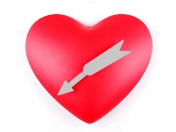 Širdies formos laikrodis