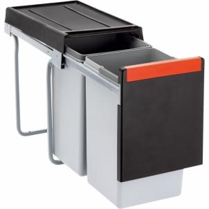 Šiukšliadėžė FRANKE Cube 30, atidarymas ranka, 2x15l. Kitchen trash cans