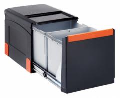 Šiukšliadėžė FRANKE Cube 41, automatinis atidarymas, 2x18l. Kitchen trash cans