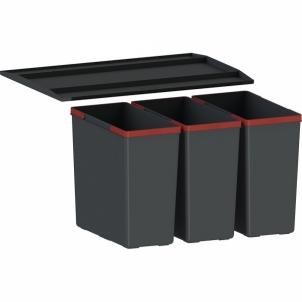 Šiukšliadėžė FRANKE Sorter 300-45, 22l.+2x10l. Kitchen trash cans