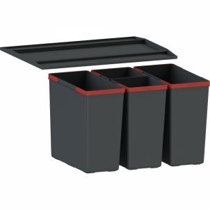 Šiukšliadėžė FRANKE Sorter 300-45, 2x22l. Kitchen trash cans