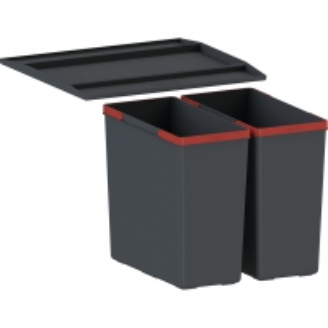 Šiukšliadėžė FRANKE Sorter 760 Motion, 2x18l.+2x8l. Kitchen trash cans