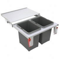 Šiukšliadėžė FRANKE Sorter GARBO 60-2, 18l.+18l. Kitchen trash cans