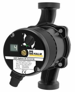 Siurblys S. cirkuliacinis HALM HEP OPTIMO 25-4.0 G 130mm Cirkulācijas sūkņi