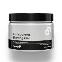 Skaidrus skutimosi gelis beviro Transparent 250 ml Shaving gel