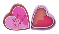 Skaistalai I Heart Revolution Heartbreakers Charming Matte Blush Blush 10g Румяна для лица