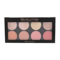 Skaistalai Makeup Revolution London Blush Palette Cosmetic 13g Palette 8 blushes, Shade Blush Goddess Skaistalai veidui