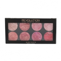 Skaistalai Makeup Revolution London Blush Palette Cosmetic 13g Shade Blush Queen Skaistalai veidui