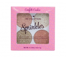 Skaistalai Makeup Revolution London I Heart Revolution Confetti Cookie Sprinkles Blush 6g Румяна для лица