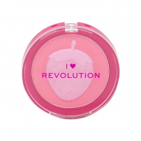 Skaistalai Makeup Revolution London I Heart Revolution Strawberry Fruity Blusher Blush 9,2g Skaistalai veidui