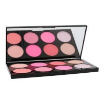 Skaistalai Makeup Revolution London Ultra Blush Palette Cosmetic 13g Shade All About Pink Skaistalai veidui
