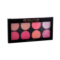 Skaistalų paletė Makeup Revolution London Ultra Blush Palette Cosmetic 13g Shade Sugar And Spice Blush facials