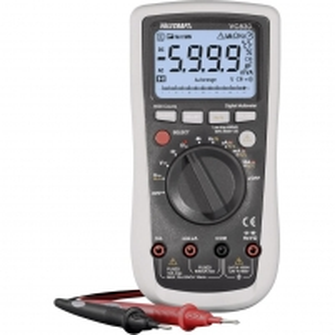 Skaitmenininis multimetras VOLTCRAFT VC830 with Software included 6000 counts CAT IV 600V, CAT III 1000V Skaitmeniniai multimetrai