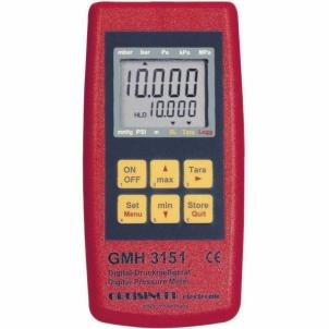 Skaitmeninis barometras Greisinger GMH 3151 , pressure meter Spaudimo matavimo prietaisai