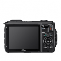 "Skaitmeninis fotoaparatas Nikon Coolpix W300 Compact camera, 16.0 MP, Optical zoom 5 x, Digital zoom 4 x, ISO 6400, Display diagonal 3.0 "", Wi-Fi, Focus 0.5m - ∞, Video recording, Lithium-Ion (Li-Ion), Black"