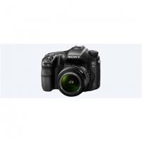 "Skaitmeninis fotoaparatas Sony α68 + 16-55mm Kit System, 24.2 MP, ISO 25600, Display diagonal 2.7 "", Video recording, Magnification 0.88 x, Viewfinder, CMOS, Black"