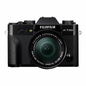 Skaitmeninis fotoaparatas X-T20 XC 16-50 Kit Black Digitālās fotokameras
