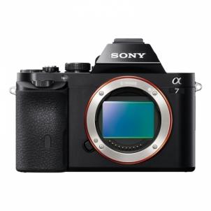 Skaitmeninis veidrodinis fotoaparatas ILCE-7 Mark II Body Digitālās slr fotokameras