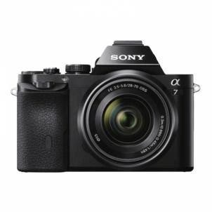 Skaitmeninis veidrodinis fotoaparatas ILCE-7KB 28-70mm Skaitmeniniai veidrodiniai fotoaparatai