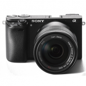 "Skaitmeninis veidrodinis fotoaparatas Sony A6300 + 16-70mm Kit System, 24.2 MP, Image stabilizer, ISO 51200, Display diagonal 2.95 "", Video recording, Wi-Fi, 4D FOCUS, Magnification 1.07 x, CMOS, Black Skaitmeniniai veidrodiniai fotoaparatai"