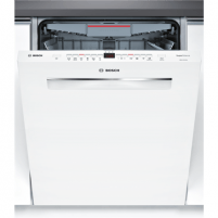 Skalbimo mašina Bosch Dishwasher SMP46MW05S Built in, Width 60 cm, Number of place settings 14, Number of programs 6, A+++, Display, AquaStop function