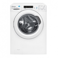 Washing machine Candy Washing Machine CSW 485D-S Washing machine with dryer, Washing capacity 8 kg, Drying capacity 5 kg, 1400 RPM, A, Depth 54 cm, Width 60 cm, White