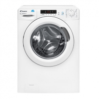 Skalbimo mašina Candy Washing Machine with dryer CSWS40 364D/2-S Front loading, Washing capacity 6 kg, Drying capacity 4 kg, 1300 RPM, B, Depth 45 cm, Width 60 cm, White, LED, Drying system, Display, NFC, Skalbimo mašinos