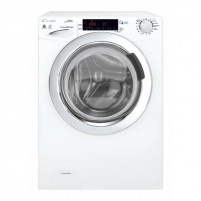 Skalbimo mašina Candy Washing Machine with dryer GVSW 585TWHC/5-S Front loading, Washing capacity 8 kg, Drying capacity 5 kg, 1500 RPM, A, Depth 52 cm, Width 60 cm, White, Drying system, NFC, Steam function, LED, Display, Veļas mazgājamās mašīnas