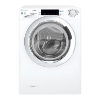 Skalbimo mašina Candy Washing Machine with dryer GVSW 586TWHC/5-S Front loading, Washing capacity 8 kg, Drying capacity 6 kg, 1500 RPM, A, Depth 60 cm, Width 60 cm, White, Drying system, NFC, Steam function, LED, Display, Veļas mazgājamās mašīnas