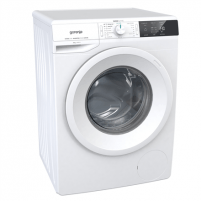 Skalbimo mašina Gorenje Washing mashine WEI843 Front loading, Washing capacity 8 kg, 1400 RPM, A+++, Depth 60 cm, Width 60 cm, White, LED, Display, Veļas mazgājamās mašīnas