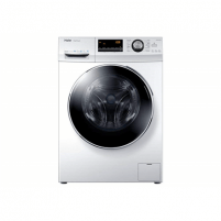 Skalbimo mašina Haier Washing machine HW100-B14636 Front loading, Washing capacity 10 kg, 1400 RPM, Direct drive, A+++, Depth 60 cm, Width 60 cm, White, LED, Display, Skalbimo mašinos