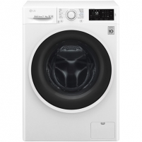 Washing machine LG F2J6HM0W Front loading, Washing capacity 7 kg, Drying capacity 4 kg, 1200 RPM, Direct drive, B, Depth 45 cm, Width 60 cm, White,