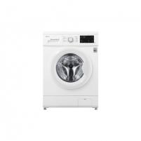 Skalbimo mašina LG Steam Washing Machine FH2J3WDN0 Front loading, Washing capacity 6.5 kg, 1200 RPM, Direct drive, A+++, Depth 44 cm, Width 60 cm, White, Steam function, LED, Skalbimo mašinos