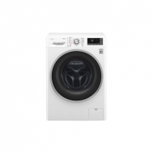 Skalbimo mašina LG TrueSteam washing mashine F4J7VY1W Front loading, Washing capacity 9 kg, 1400 RPM, Direct drive, A+++, Depth 56 cm, Width 60 cm, White, LED, Steam function, Display, Veļas mazgājamās mašīnas