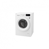 Washing machine LG Washing machine F2J5QN3W Front loading, Washing capacity 7 kg, 1200 RPM, Direct drive, A+++, Depth 56 cm, Width 60 cm, White, LED, Display, NFC,