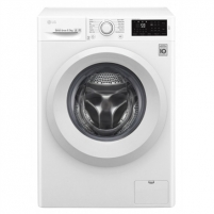 Skalbimo mašina LG Washing machine F2J5WN3W Front loading, Washing capacity 6.5 kg, 1200 RPM, Direct drive, A+++, Depth 44 cm, Width 60 cm, White, Motor type Direct Drive Skalbimo mašinos