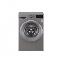 Skalbimo mašina LG Washing machine F2J5WN7S Front loading, Washing capacity 6.5 kg, 1200 RPM, Direct drive, A+++, Depth 45 cm, Width 60 cm, Silver, LED, Display, Skalbimo mašinos