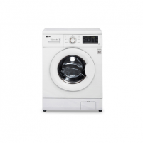Skalbimo mašina LG Washing Machine FH2J3TDN0 Front loading, Washing capacity 8 kg, 1200 RPM, Direct drive, A+++, Depth 55 cm, Width 60 cm, White, LED, Skalbimo mašinos