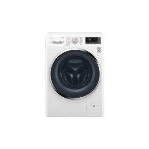 Skalbimo mašina LG Washing machine with Dryer F2J7HG2W Front loading, Washing capacity 7 kg, Drying capacity 4 kg, 1200 RPM, Direct drive, B, Depth 45 cm, Width 60 cm, White, LED, Steam function, Display, Veļas mazgājamās mašīnas